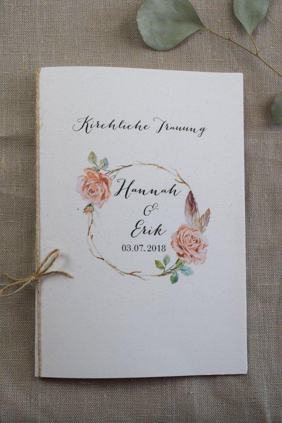 Kirchenheft_Hochzeit