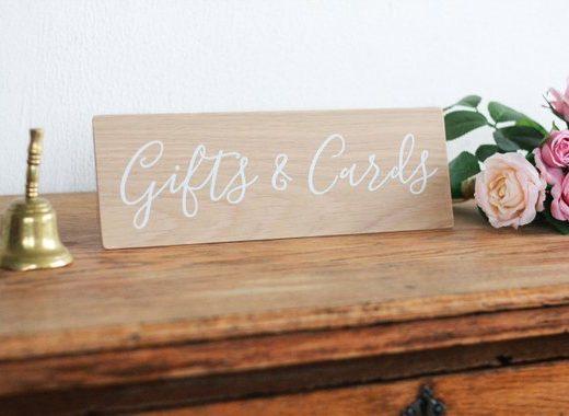 Hochzeit_Schild_Geschenke