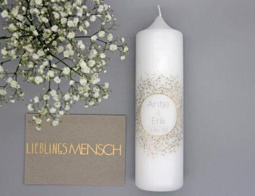 Hochzeitskerze_Gold