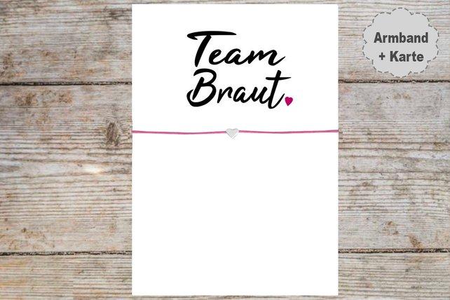 TeamBraut_Armband
