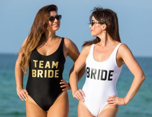 Badeanzug Team Bride