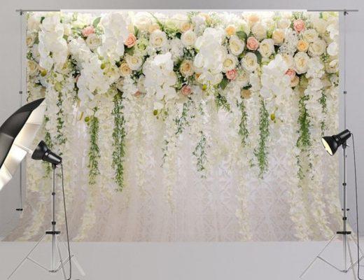 Blumen Fotowand
